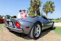 Kathi and John Schumann with their 2006 Ford GT